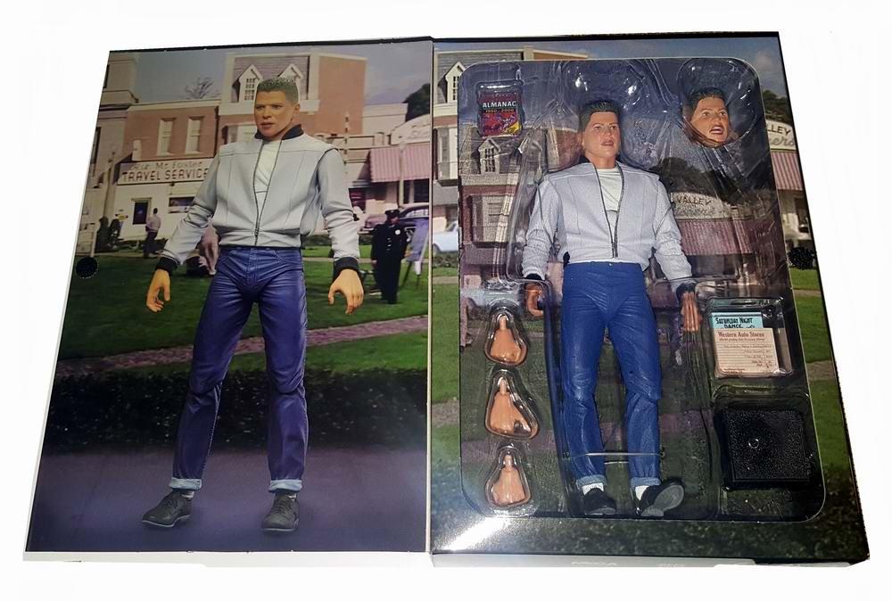 Figurine Marty Biff Tannenn BACK TO THE FUTURE 2 Figure