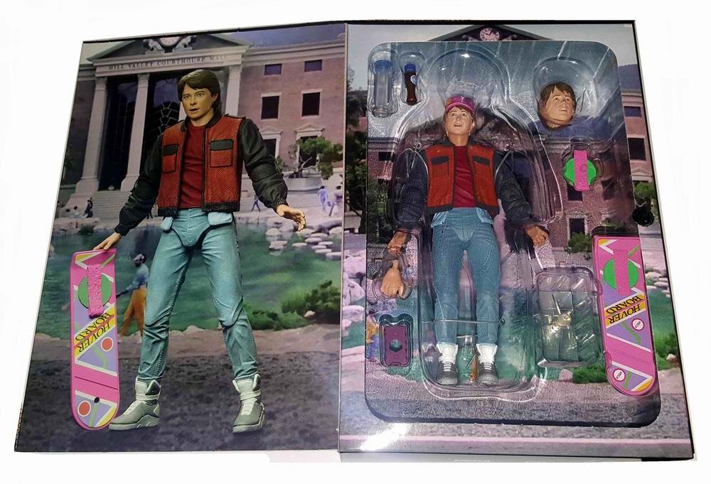Figurine Marty McFly film Retour vers le Futur 2