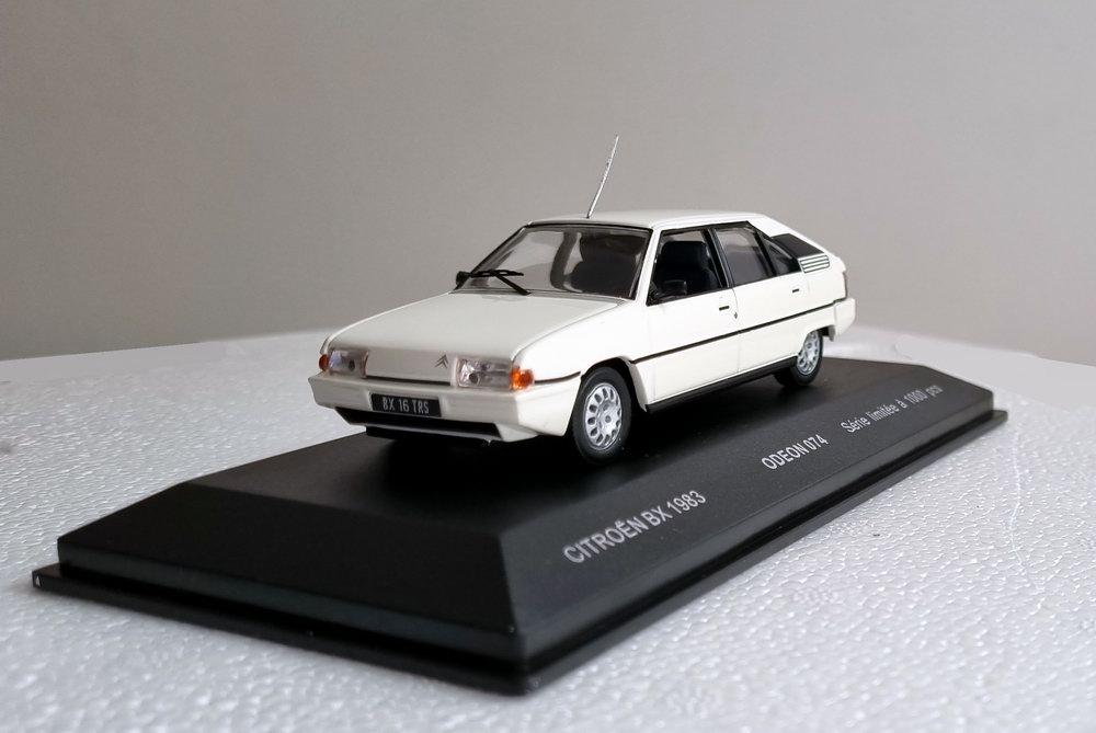 Voiture Miniature CITROEN BX 16 TRS 1/43