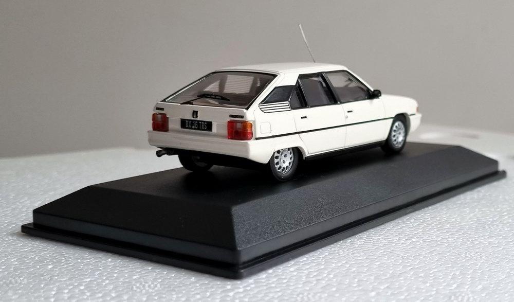 Miniature voiture CITROEN BX 16TRS 1/43