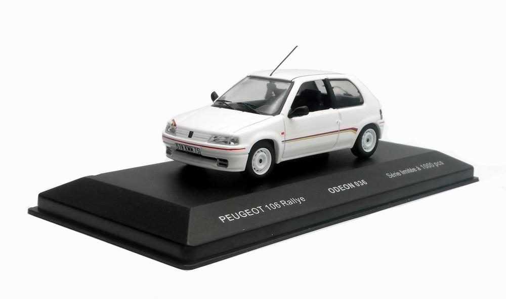 Voiture Miniature Peugeot 106 Rallye 1/43