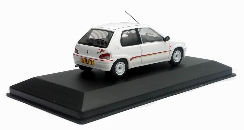 Miniature Peugeot106 1/43