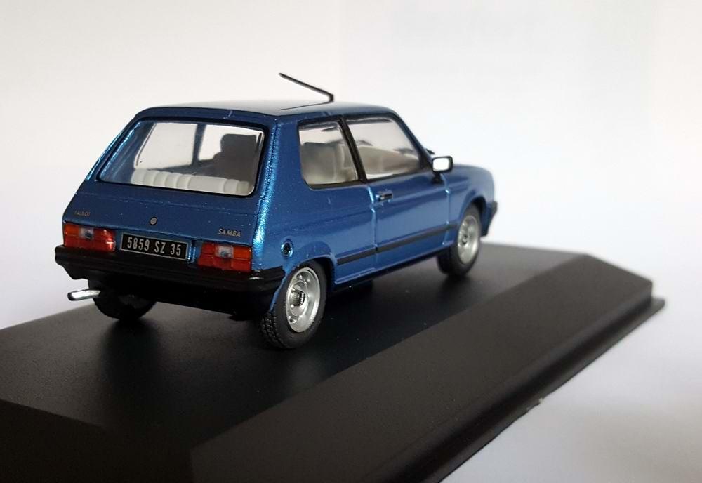 Miniature Talbotsamba 1/43