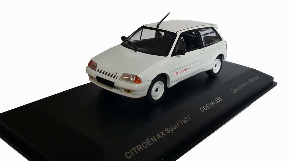 Voiture Miniature CITROEN AX sport 1/43