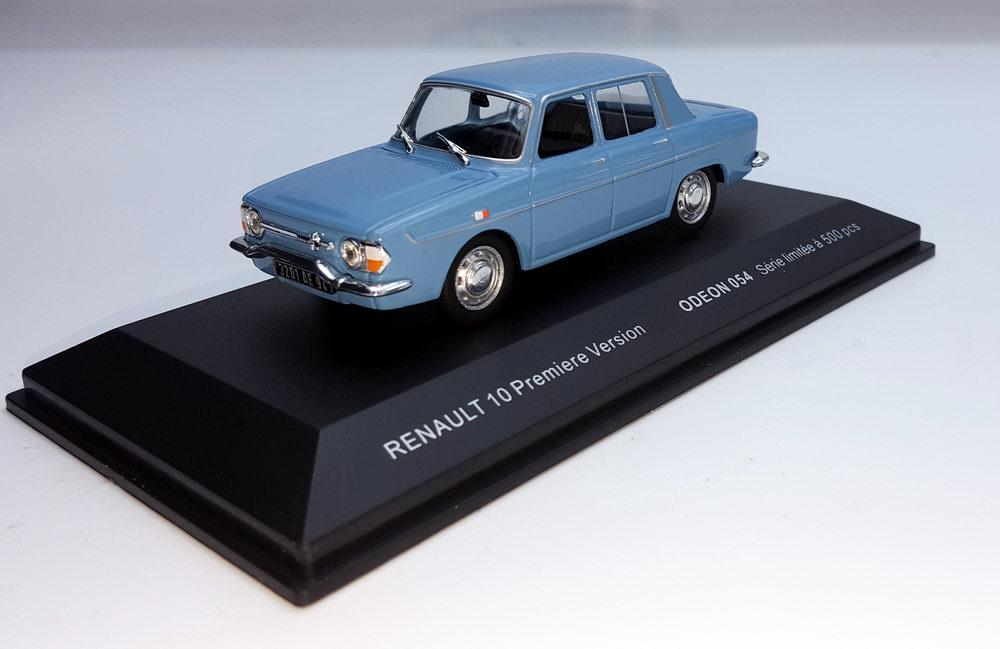 Voiture Miniature Renault 10 1/43