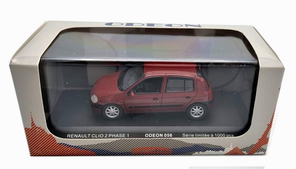 Voiture Miniature Renault Clio2 rxt Phase 1 1998 1/43