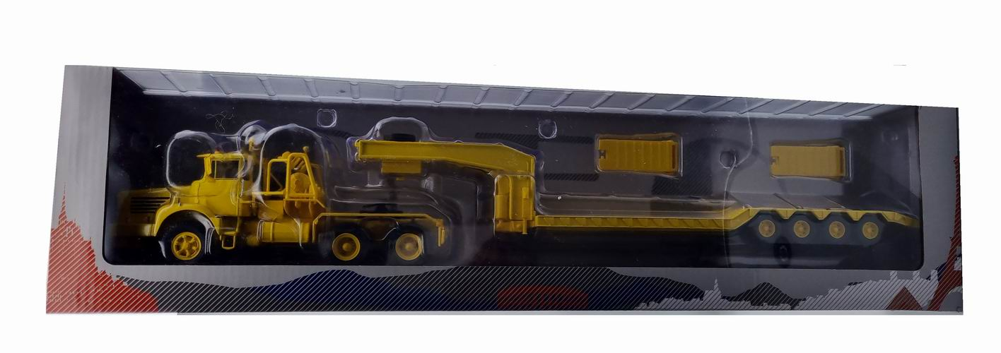 Miniature camion BERLIET TBO15 M3 SEMI-REMORQUE PORTE-ENGIN TRAVAUX PUBLICS Berliet camion TB015