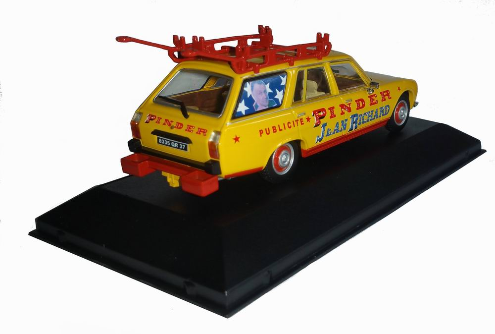 Voiture miniature PEUGEOT 504 Pinder 1/43