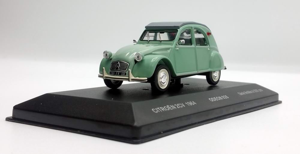 Voiture Miniature CITROEN 2CV 1964 1/43