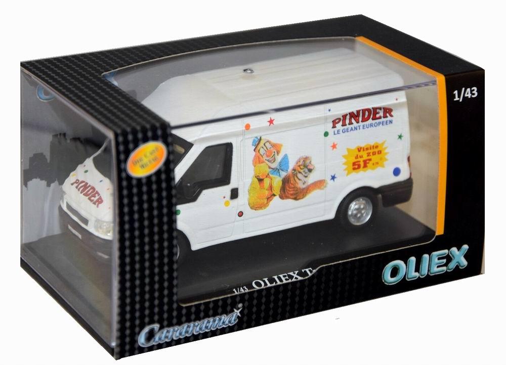 Voiture miniature Ford Transit Pinder 1/43