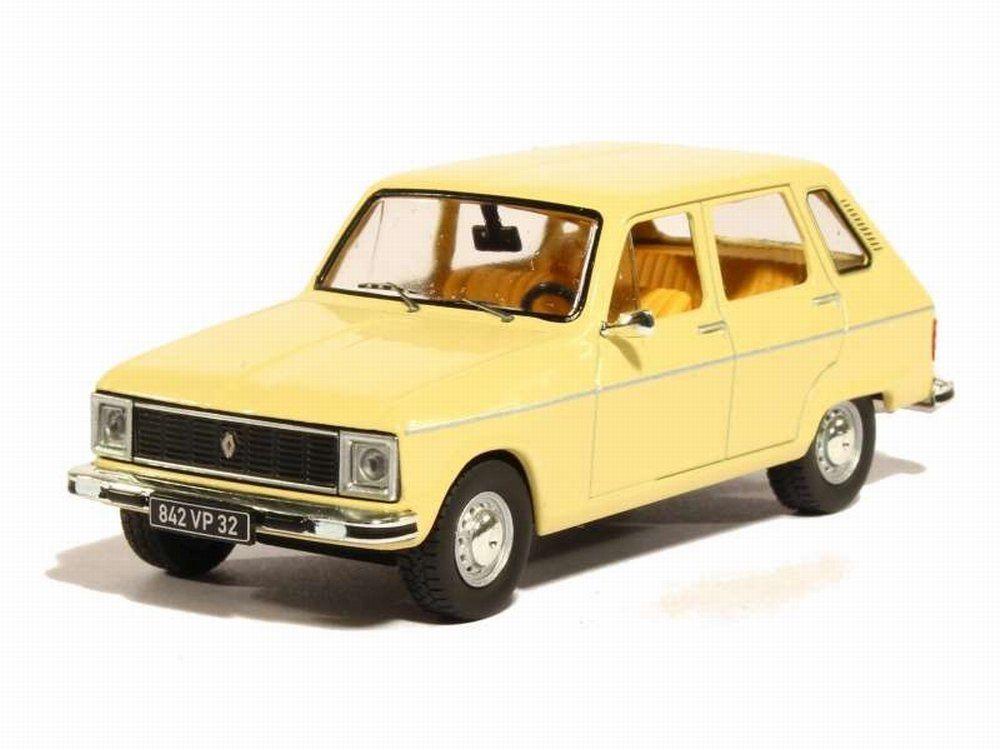 Voiture Miniature Renault 6 TL de 1974 1/43