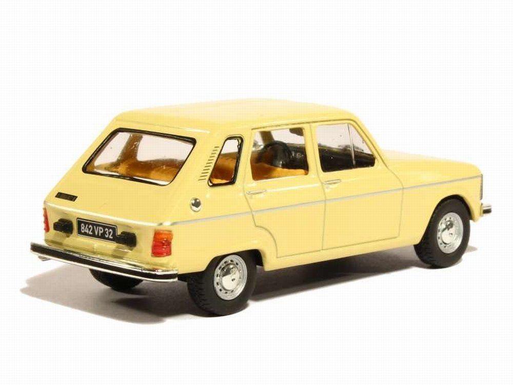 Miniature Renault R6 TL 1/43