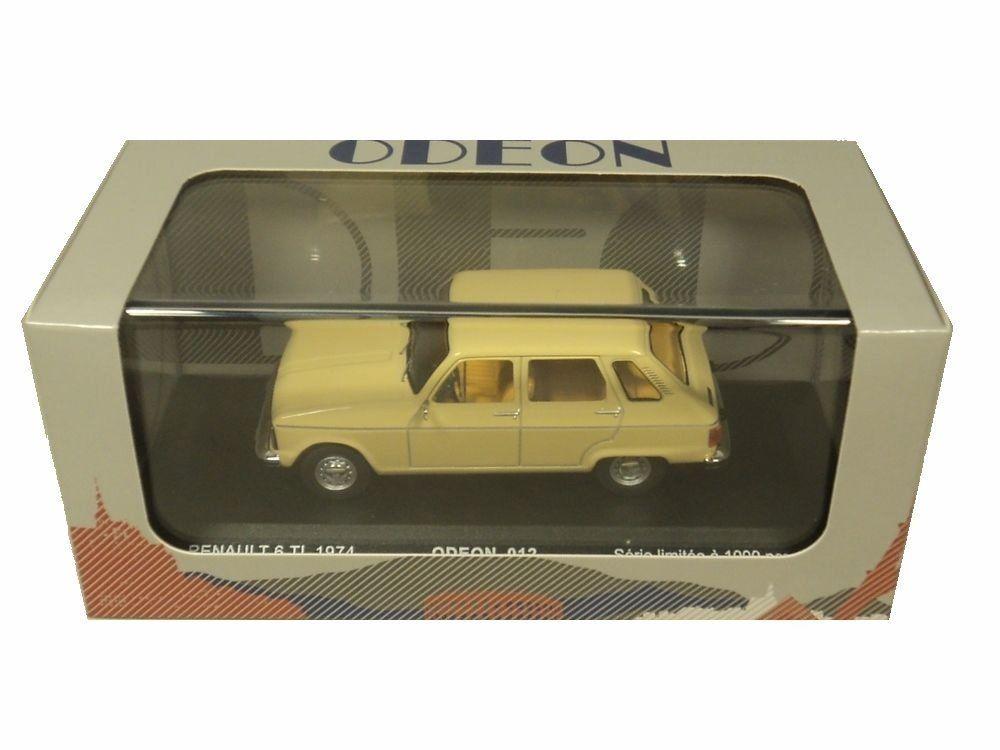 Petite voiture r6 TL renault 1/43