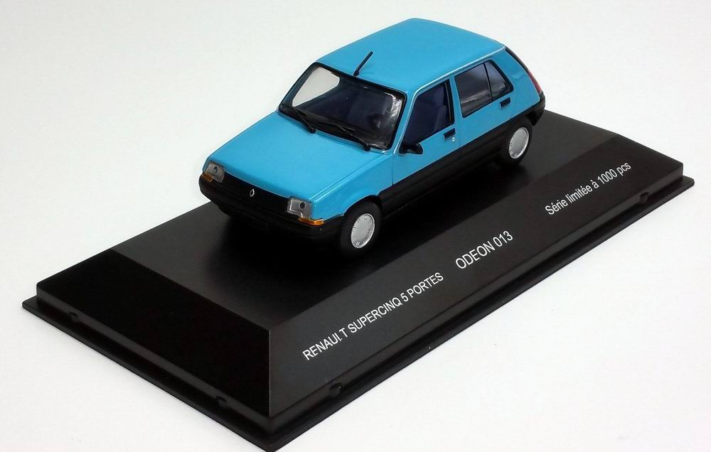 Voiture Miniature Renault Super 5 GTL 1985 1/43