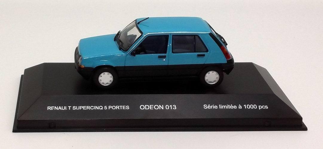 Miniature R5 supercinq 1/43