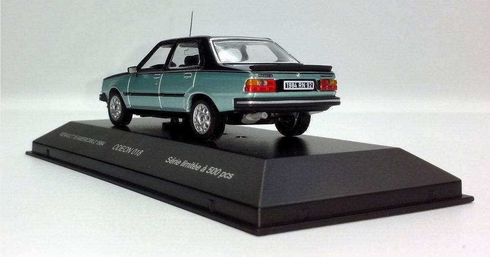 Petite voiture Renault18 American 2 1/43