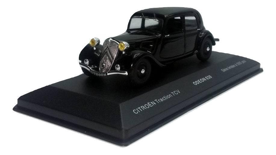 Voiture Miniature CITROEN Traction 7CV Noire 1/43