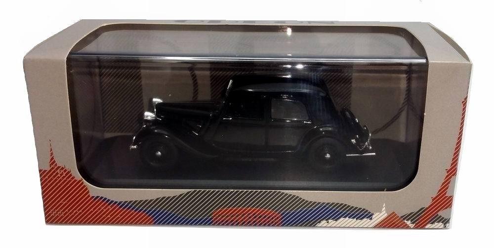 Petite voiture CITROEN Traction7CV Noire 1/43