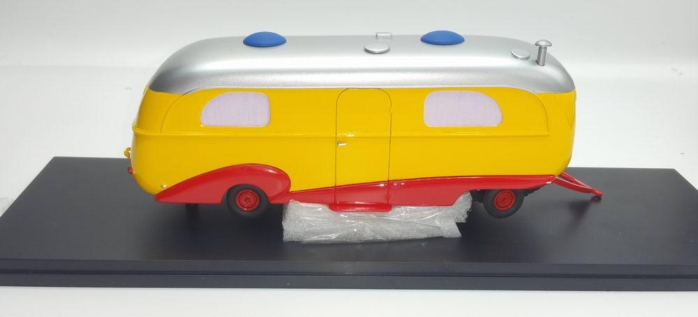 Miniature Caravane Assomption CIRQUE PINDER JEAN RICHARD ORTF 1/43
