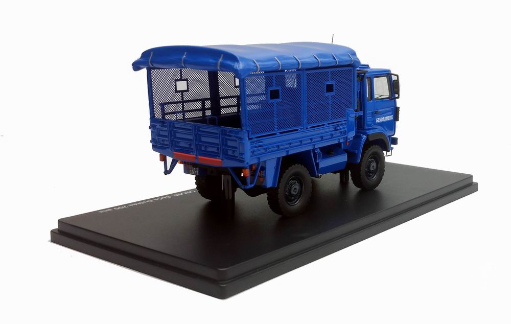 Miniature Camion RENAULT TRM 2000 MO GENDARMERIE Maintien ordre 1/43