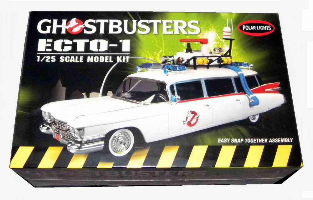 Maquette kit Voiture Cadillac Miller Meteor Ambulance ECTO1 GHOSTBUSTERS 1/25