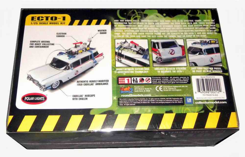 Maquette kit Voiture Ambulance ECTO1 GHOSTBUSTERS 1/25