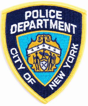 ecusson police New York patch NYPD