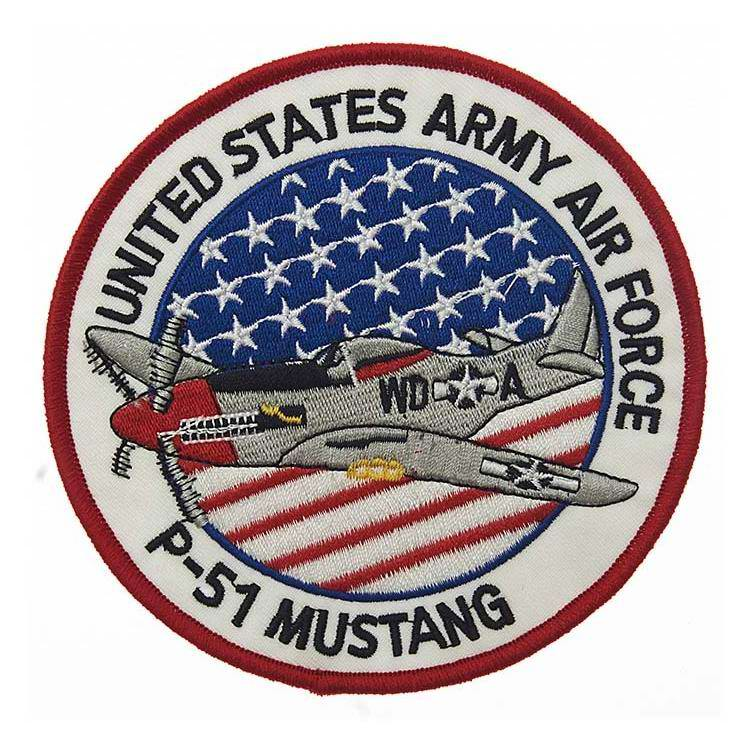 Patch P-51 MUSTANG USAAF US AIR FORCE