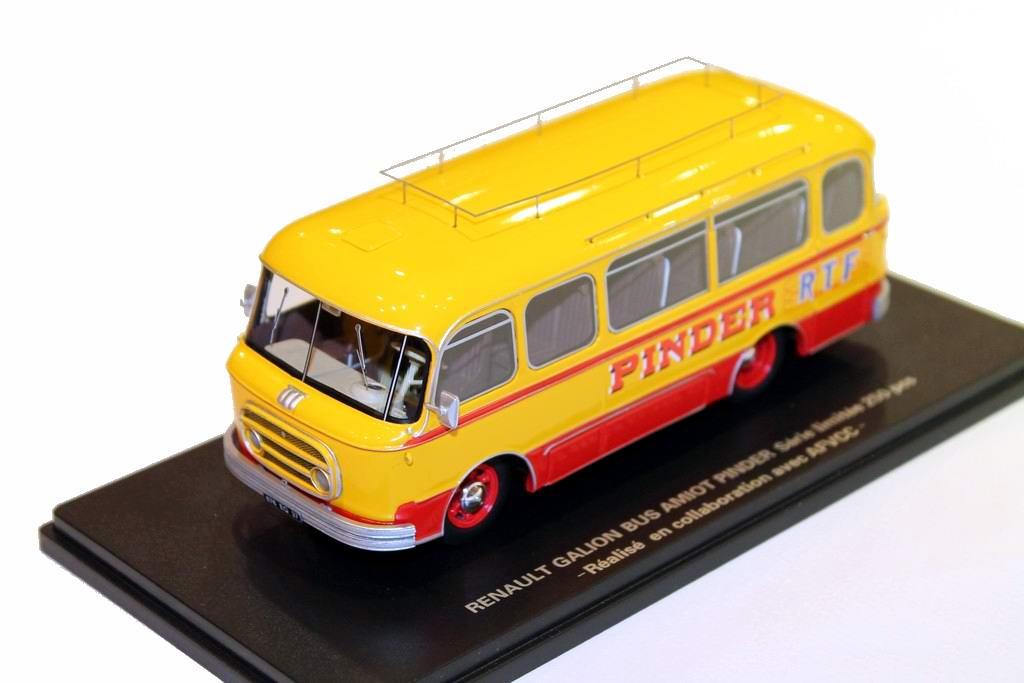 Miniature RENAULT GALION autocar AMIOT CIRQUE PINDER ORTF 1/43