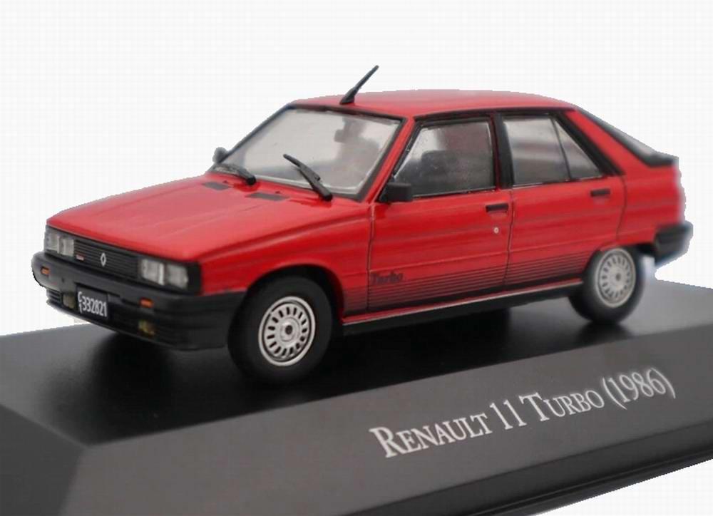 Voiture Miniature Renault 11 turbo R11 1/43