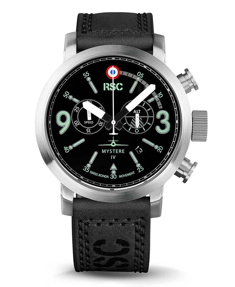 Montre Aviateur Chronomètre Mystere IV RSC PILOTS WATCHES