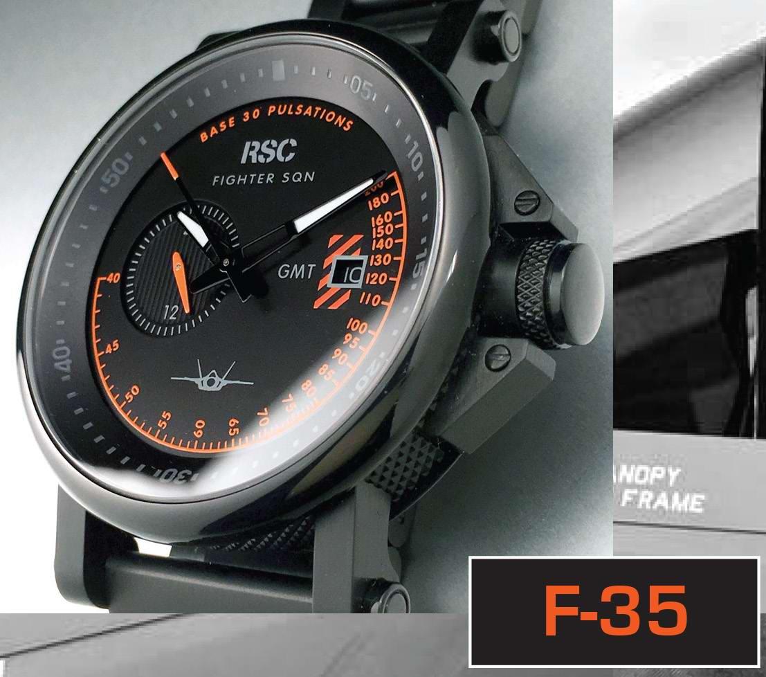 Montre Aviateur Automatique F35 RSC PILOTS WATCHES