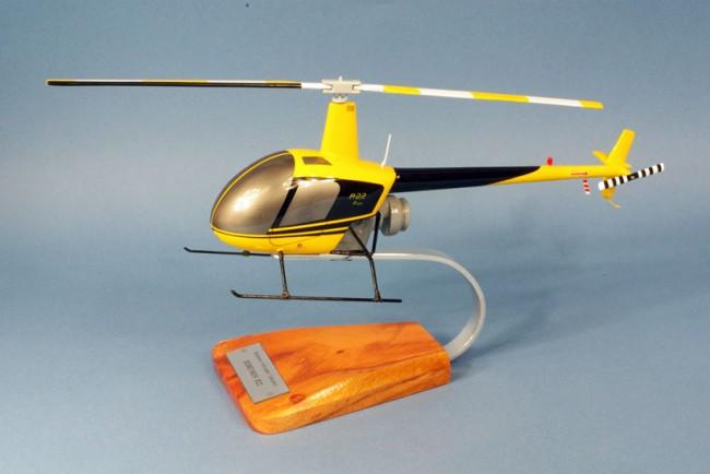 hélicoptère Robinson R.22