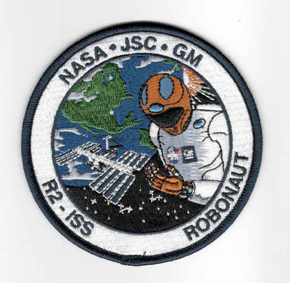 Patch R2 Robonaut ISS Station Spatiale Internationale