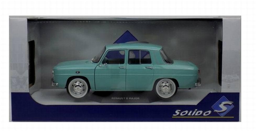 Voiture Miniature Renault 8 Major R8 Soldo 1/18