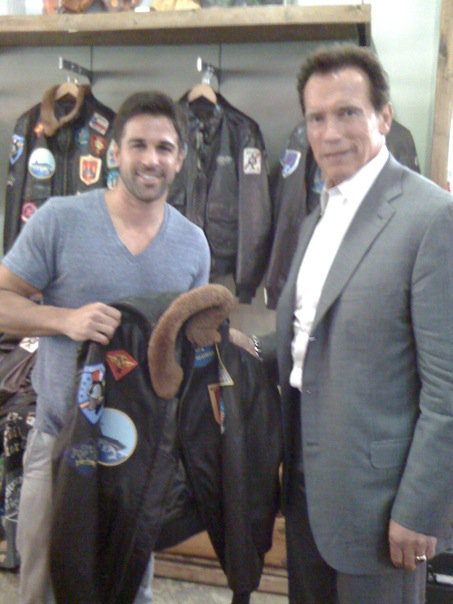 Arnold Schwarzenegger Cockpit USA