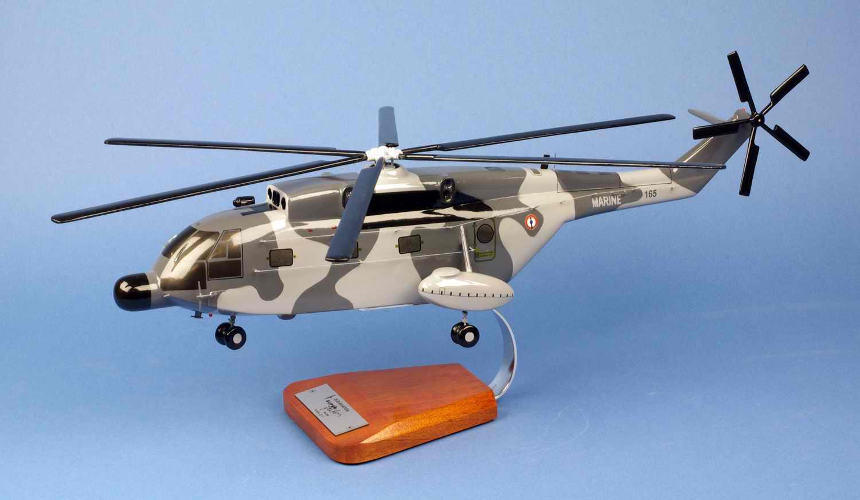 Maquette Hélicoptère SUPER FRELON SA321G Flottille 32F