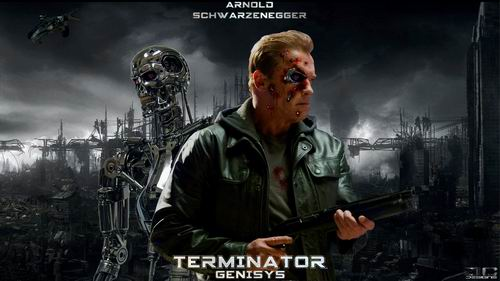 schwarzenegger Terminator T800 Genisys T1000