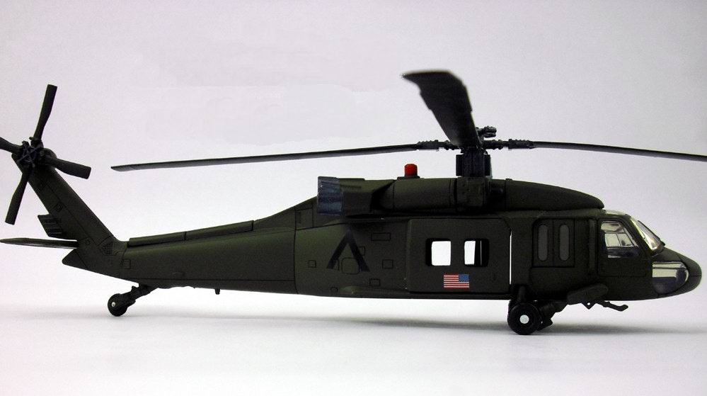 Maquette Helicoptere Sikorsky UH-60 Black Hawk US ARMY