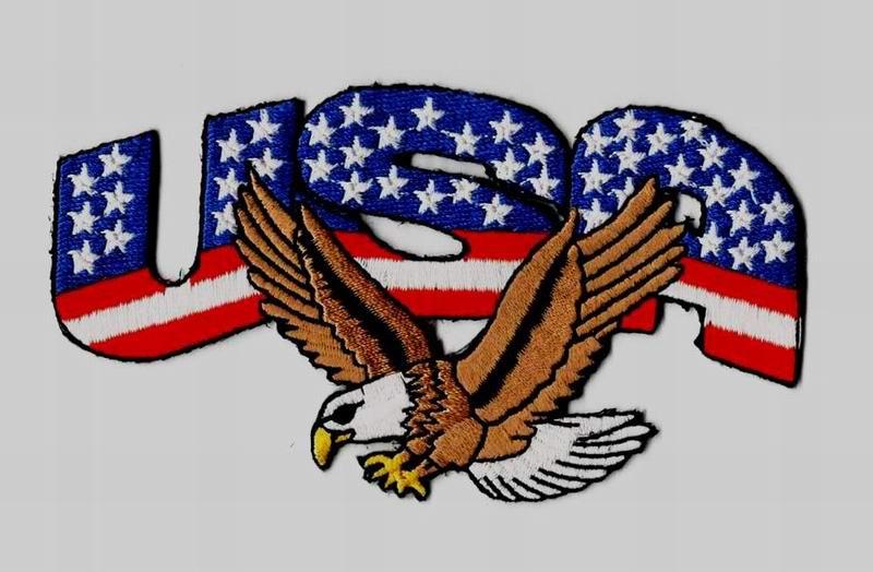 Patch USA Eagle