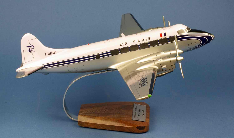 Maquette avion DeHavilland DH114 Heron AIR PARIS 1/40