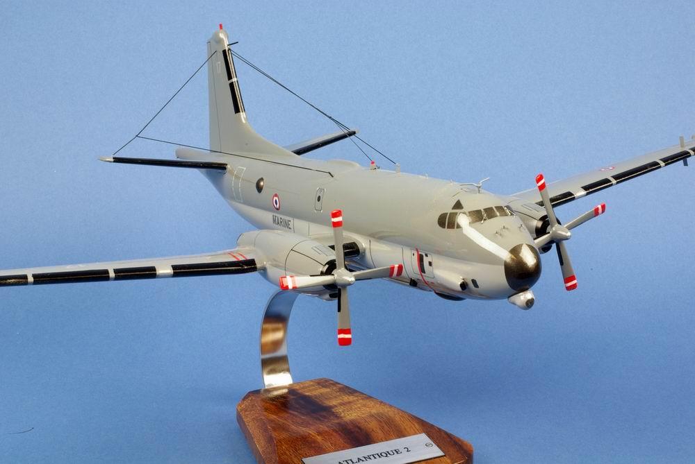 maquette avion Atlantique 2 Aeronavale ATL2 Flottille 21F N°17