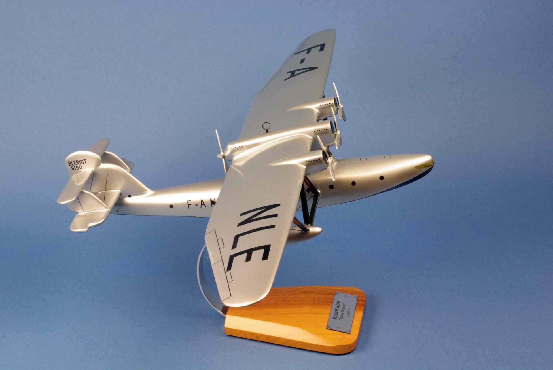 Maquette Avion BLERIOT B5190 Santos Dumont Compagnie Générale Aéropostale