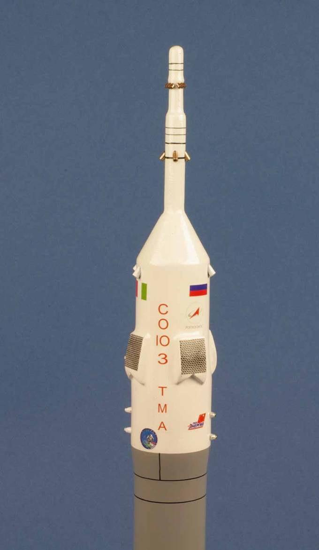 maquette Fusée Soyuz ISS TMA-06M Eneide Exped 11