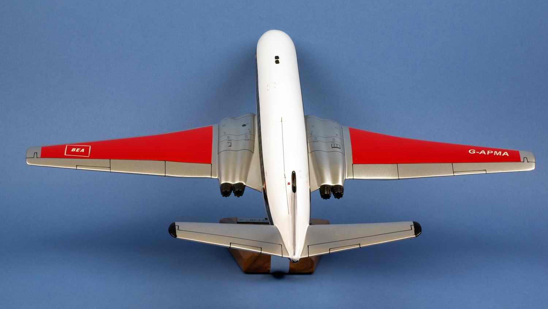 maquette avion De Havilland DH106 Comet 4B British European Airways