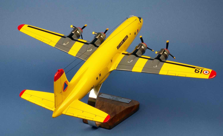 maquette avion Douglas DC6 Pélican 61 Sécurité civile