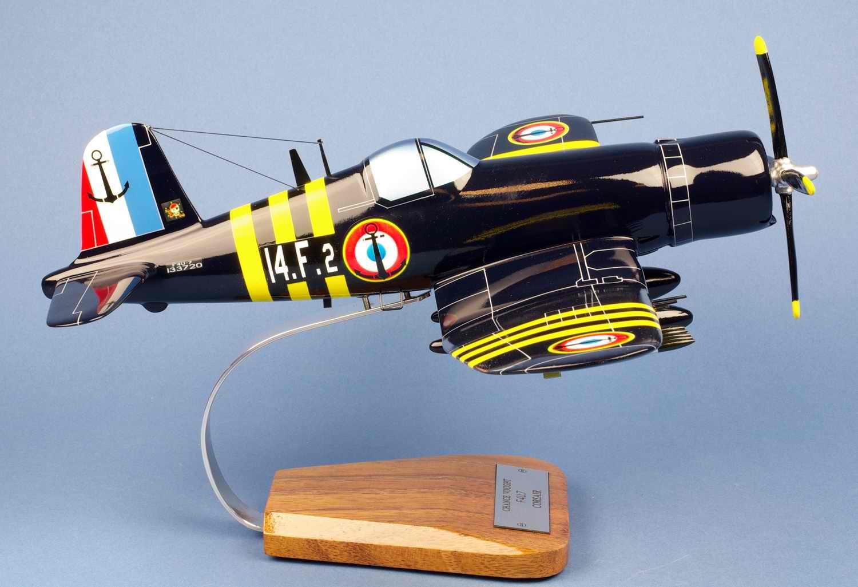 F4U-7 CORSAIR Flottille 14F de l'Aéronavale Française 1/30