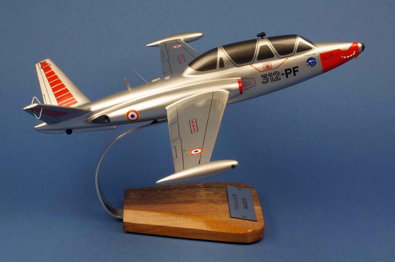 Maquette Avion Fouga Magister CM170 GI312 Salon de Provence