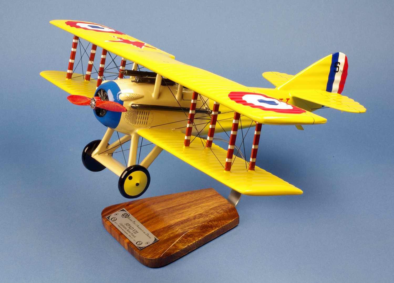 Maquette avion Spad VII SPa 103 René Fonck AS des AS Français Première guerre mondiale Aviation