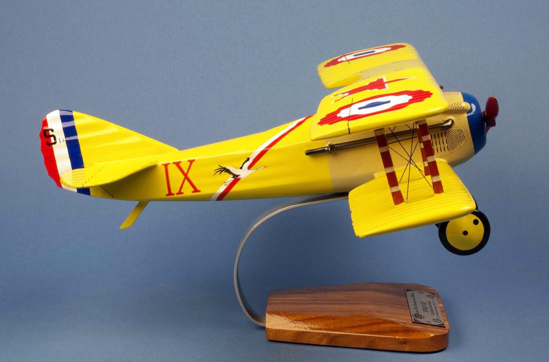 Maquette avion Spad 7 Fonck AS des AS Français Première guerre mondiale Aviation